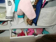 Organize Your American Girl Stuff – Day 2 Clothing fashion design, american girl stuff, american girls