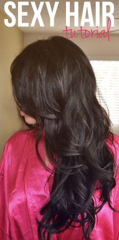 Victoria's Secret Hair Tutorial