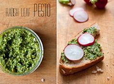 Dine & Dash: radish leaf pesto