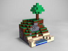 Lego Minecraft-gotta show Livie