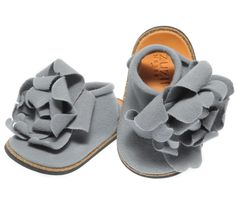 Joli Petal Shoe in Slate