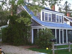 cape cod with shed dormer