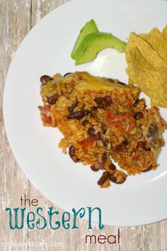 easy trader joe recipes (easy rice, beef, bean and cheese casserole)