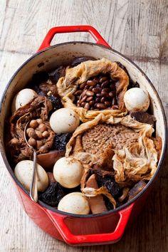 Hamin is a Sephardic cholent - Shabbat stew