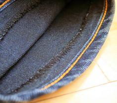 Running With Scissors: Tutorial: 2 ways to hem jeans keeping the original wash and/or original stitching