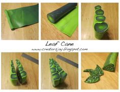 Leaf Cane by www.creatorsjoy.blogspot.com