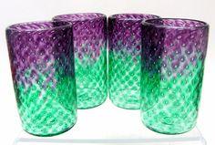 glass studio, glass bubbl, hand blown, function hand, bubbl tumbler, tumbler set