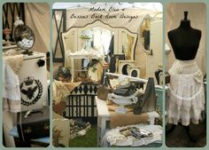 "TVM September 5th-7th 2014 Vendors, welcoming ""Madam Bleu & Bessie's Back Room Designs""!"