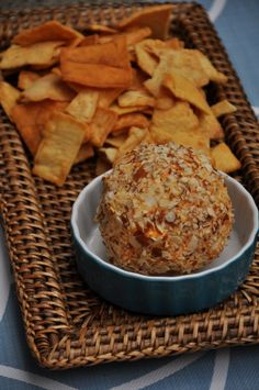 Easy cheese ball recipe.
