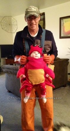 Coolest Father/Daughter Duo Halloween Costume.