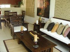 muebles chocolate para terraza