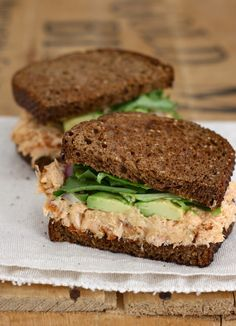 Roasted Salmon & Avocado Sandwich with Chipotle Mayo
