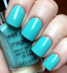 Wet N Wild- I need a refresh-mint    Seriously my fav nailpolish & dirt cheap!