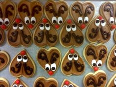 Rudolph Cut-out Cookies (Design Idea Only, NO Recipe)