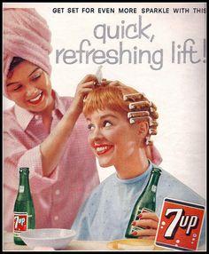 1958 7-up ad