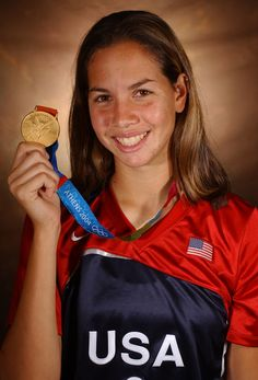Cat Osterman (USA, Softball, Athens 2004, 1 Gold; Beijing 2008, 1 Silver) Best pitcher ever