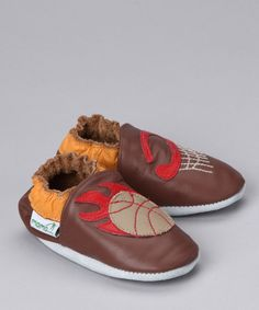 Basketball Booties... I hope you see this Jenny!  Perfect for X...only $10