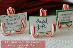 christma card, holiday, christmas cards, craft, christmas place card holders