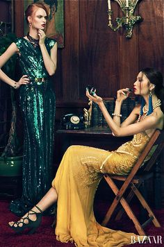 The Ugly Stepsisters [By an lee for Harper's Bazaar Vietnam]