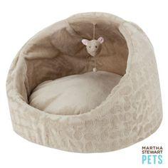 Martha Stewart Pets® Burnout Cave Cat Bed | Beds | PetSmart
