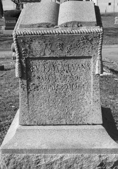 Tombstone Tuesday: Rev. Ray A. Evans #genealogy #familyhistory