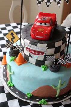 Awesome Kids Cake, my son would love this.