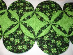 St. Patrick's Quilted Table Runner