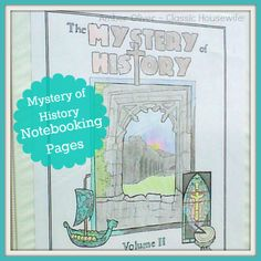 Mystery of History Notebooking Pages @Bright Ideas Press @Amber Oliver