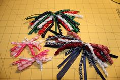 A Techy Teacher with a Cricut: Decorative Boxes and Curly Hair Bows