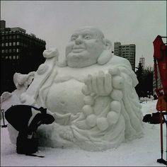 30 Stunning Snow Sculptures – Part 1