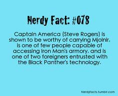 you go, Cap