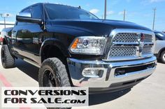 2014 Ram 2500 Laramie Diesel Lifted Truck