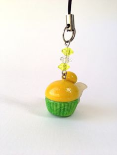 Tinkerbell  Disney Inspired Cupcake Polymer by PixieDustedCharms, $11.00