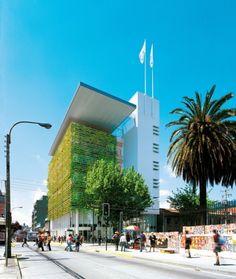 architecture: enrique brown vegetal sking