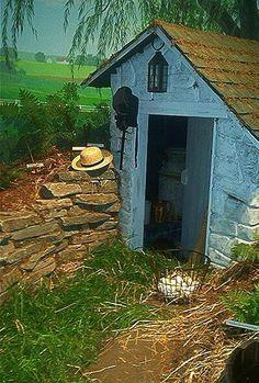 Amish cold cellar