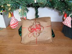 Paper sack wrapping paper