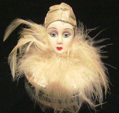 Art Deco Powder Box
