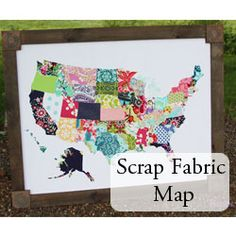 Fabric Wall Map — beingBrook