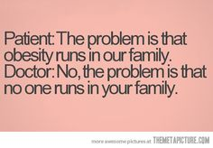 It runs in our family…