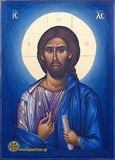 A beautiful Orthodox icon of Jesus Christ