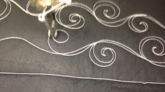 Quilting Double Swirls