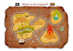 SWEET Free Printable of a Pirate Treasure Map  AND MORE!