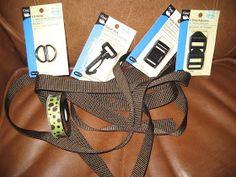 DIY dog collar and leash