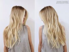 BABY BLONDE HIGHLIGHTS. Hair Color by Johnny Ramirez • IG: @johnnyramirez1 • Appointment inquiries please call Ramirez|Tran Salon in Beverly Hills at 310.724.8167. #hair #besthair#beachhair #johnnyramirez#highlights #model#ramireztransalon#sunkissedhighlights #bestsalon#beauty #lahair #brunette#blonde #highlights #caramel#salon #blondehair #beachyhair#beautifulhair #ramireztran#ramireztransalon#johnnyramirez #sexyhair