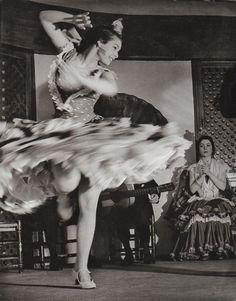 Gypsy dancer, Flamenco 1956