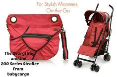 Oh Baby! Baby Cargo Stroller and Georgi Stroller Bag Review at http://www.pammyblogsbeauty.com