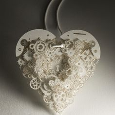 Clockwork Love jewelry. Frank Tjepkema.