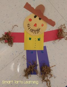 SmartTartsLearning: This Year's Shape Scarecrows