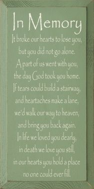 For Nana and Lola.