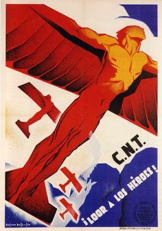 Spanish Civil war again--inspiration for Angel of the North??!!